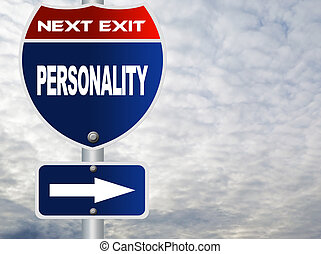 Personality road sign