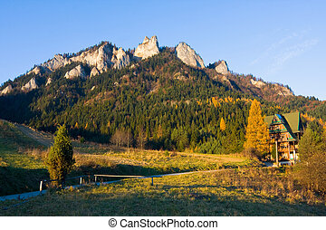 Three Crowns - Pieniny, Poland