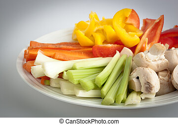 vegetal,  platter