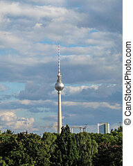 Berlin tower - Berlin, Germany, tv and radio tower