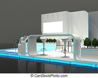 Exhibition Stand Interior / Exterior Sample - Exhibition...