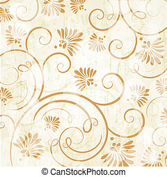 Floral seamless beautiful pattern - Floral seamless pattern