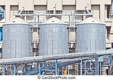 grain storage silos tank for agriculture