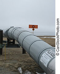 Oil extraction site - Oil and petroleum extraction site...