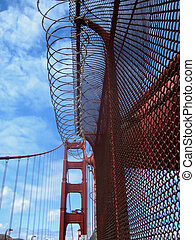 Protection - Pictures of barb wire and other protective...