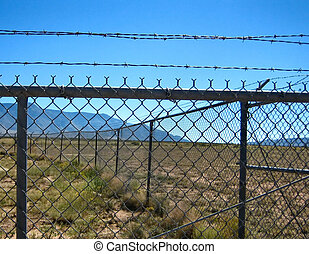 Prison - Barbed wired used in prison and other facilities