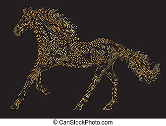 Horse of the stars - 2014 Chinese Lunar New Year of the...