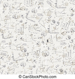 Abstract business graphs background. Vector, EPS10