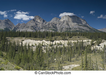 Banff National Park - Rocky Mountains in Banff National Park...
