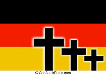 ドイツ語, 旗