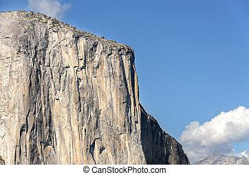 El Capitan rock in Yosemite