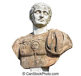 Ancient bust in Potsdam Sanssouci