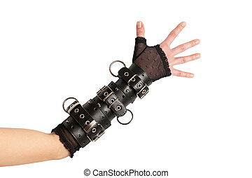 Arm in Leather Bracelets