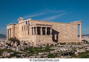 The Erechtheum - Acropolis