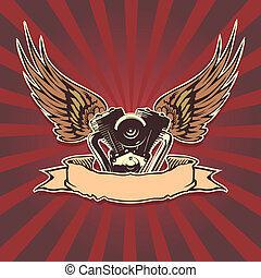 motorbike wallpaper Available EPS-8 vector format separated...