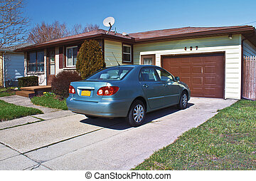 Cozy Home - Modest one story home with compact car in the...