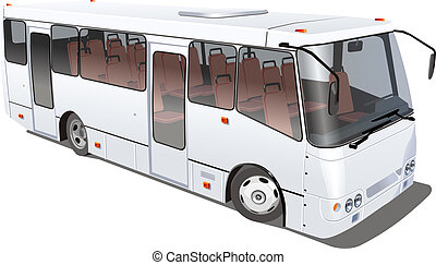 city bus isolated Available EPS-10 vector format separated...