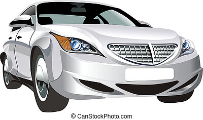 Modern abstract car Available EPS-8 vector format separated...