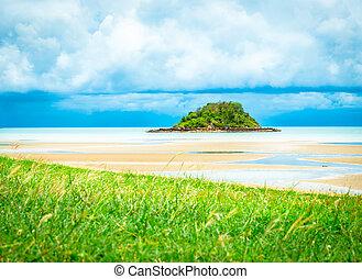 Tropical island beach in Thailand