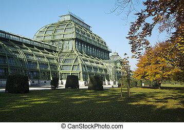 Austria, Vienna - Austria, Palm house in Schoenbrunn in...
