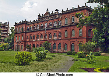 Bangladesh, Dhaka, former residence of Lord Carzon, now part...
