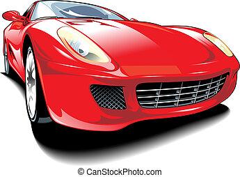 original car design - nice original car design on the white...