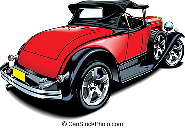 original car design - nice original car design on the white...