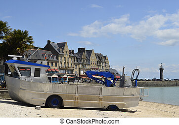 France, Brittany - Cancale, Brittany, France, amphibious...