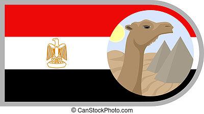 Egypt symbols - Creative design fo egypt symbols
