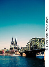 Cologne(Köln)Cathedral, Germany - View on Cologne Cathedral...
