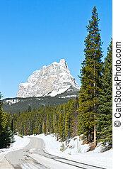 Castle Mountain, Banff Canada