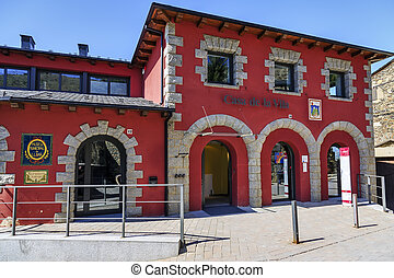 Llivia town hall - Llivia town hall, museum and old...