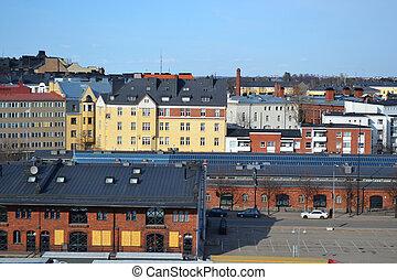 Port in Helsinki