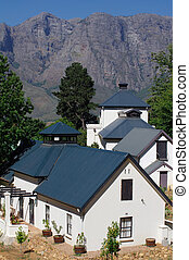 Cape Dutch architecture, Stellenbosch, South Africa