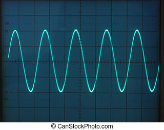 Electrical signals - electrical signals displayed on the...