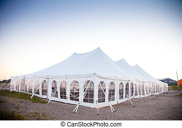 A party or event white tent - Party or event white tent...