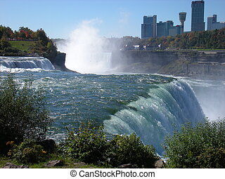 Thunderous Niagara and canada - Powerful and forceful the...