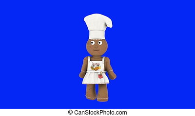 chef doll - image of chef doll