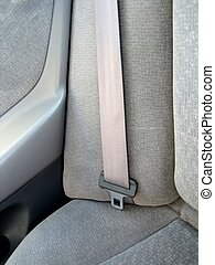 Seat belts in cars - Picture of close ups of seat belts and...