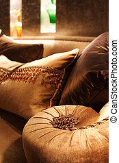 Sofa detail - sofa detail