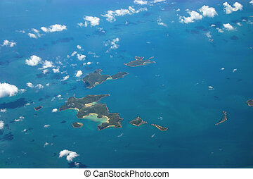 Goldsmith Island - Goldsmith continental shelf islands on...