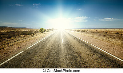 road to the sun - An image of a nice road to the sun