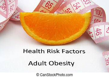 Health risks - obesity