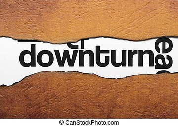 Downturn
