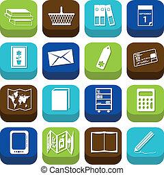 bookshop icons