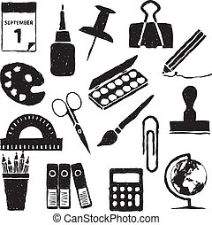 stationery doodle images