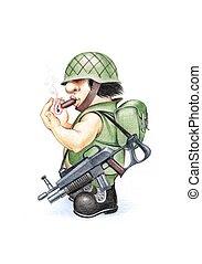 soldado,  04