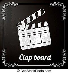 clap board