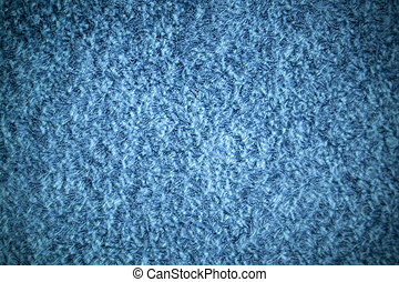 Shag Rug - A blue shag carpet texture with added vignetting