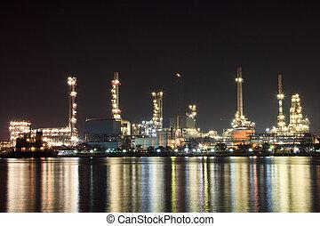 raffineria, olio